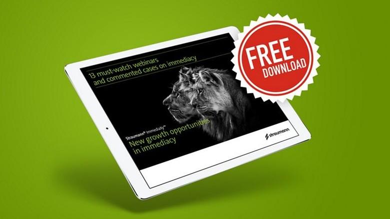 E-book Straumann® ImmediaXy™: 13 webinar e casi da non perdere sull'Immediacy