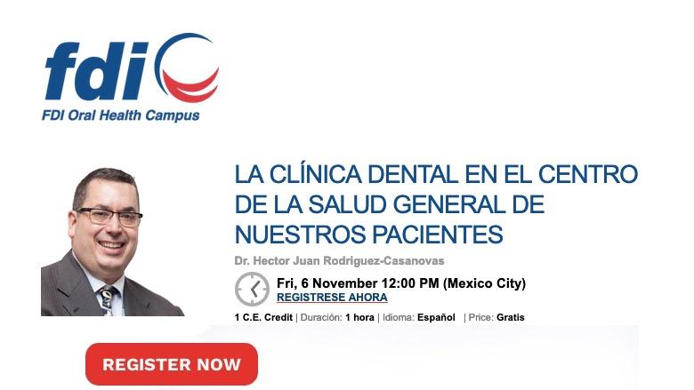 La clínica dental como centro de salud de nuestros pacientes