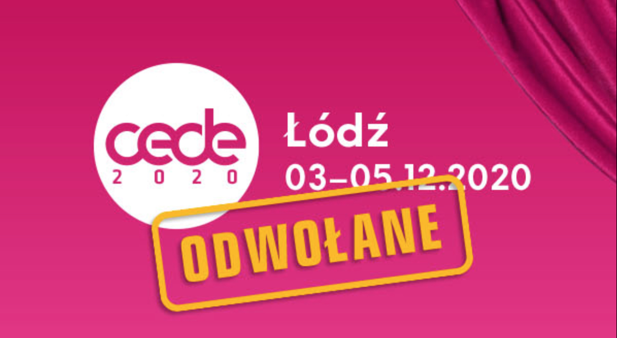 Komunikat w sprawie CEDE 2020
