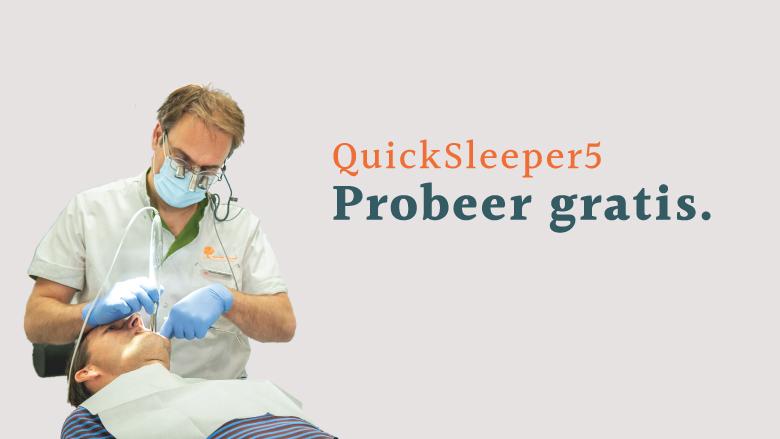 Uniek aanbod: probeer de QuickSleeper 1 maand