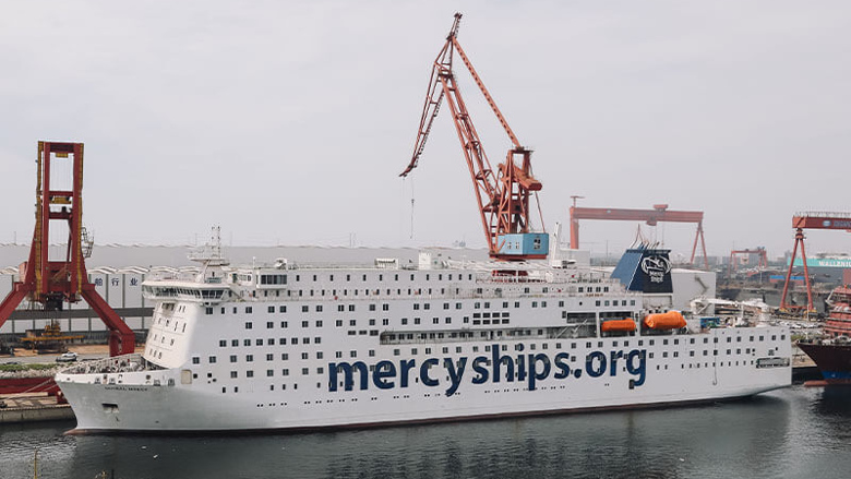 A-dec joins Mercy Ships in first reveal of <em>Global Mercy</em> hospital ship