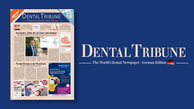 Informativ: Aktuelle <em>Dental Tribune Deutschland</em> jetzt online