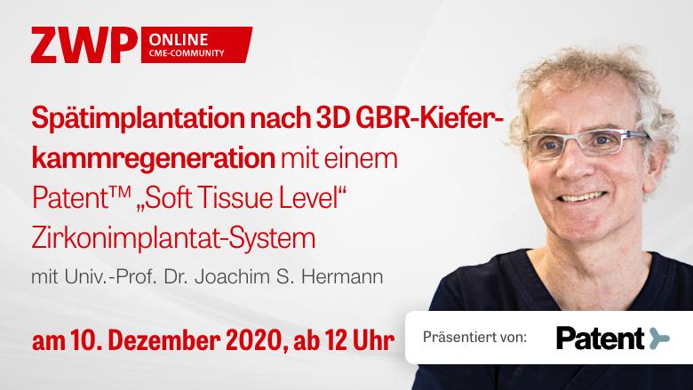 Am 10. Dezember einschalten zur Live-OP mit Prof. Hermann