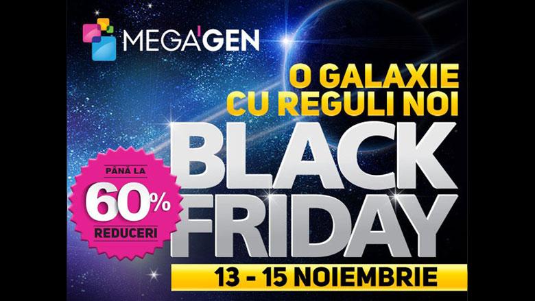 MegaGen lansează campania de Black Friday