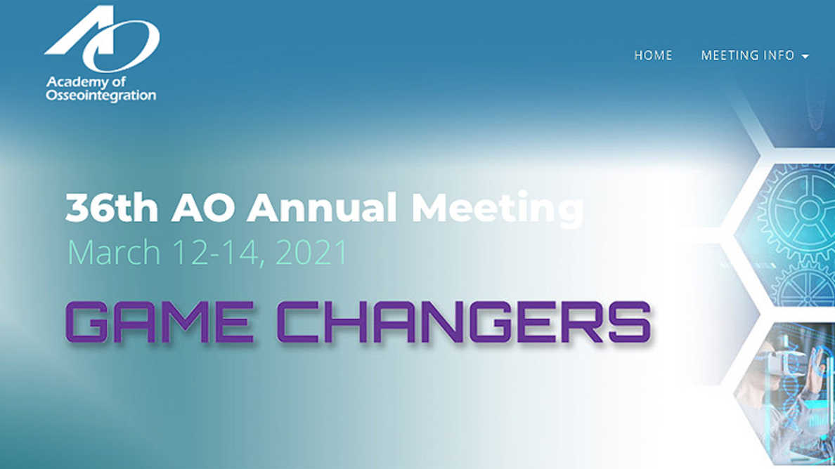 AO 2021 Virtual Meeting to provide one-of-a-kind dynamic experience