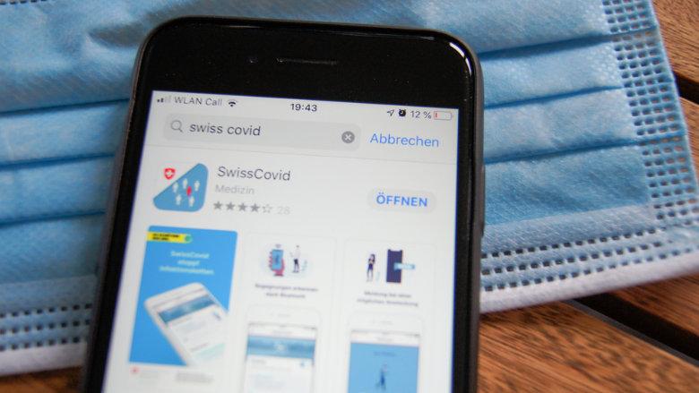 SwissCovid-App-Nutzer im Vorteil