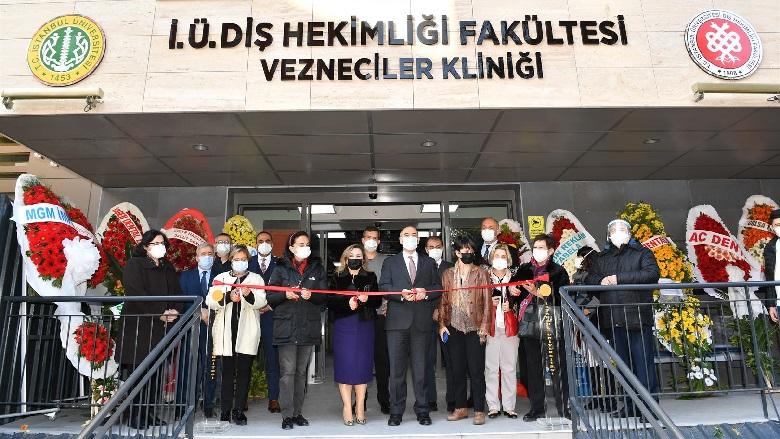 İstanbul Üniversitesi Diş Hekimliği Fakültesi Vezneciler Kliniği Açıldı