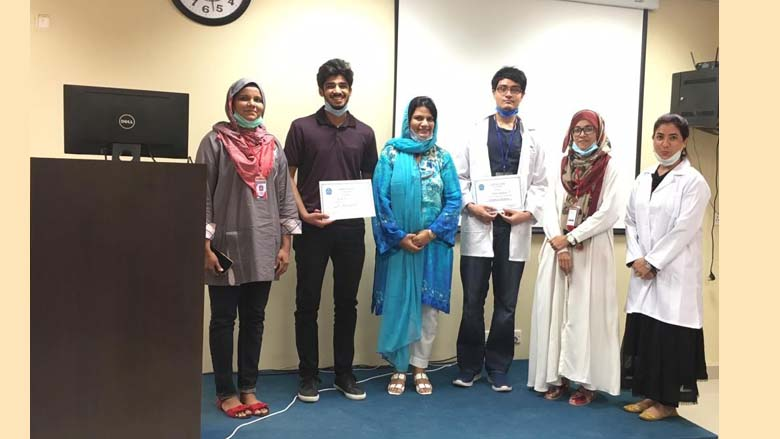 Students showcase skills in Orthodontic presentation competition