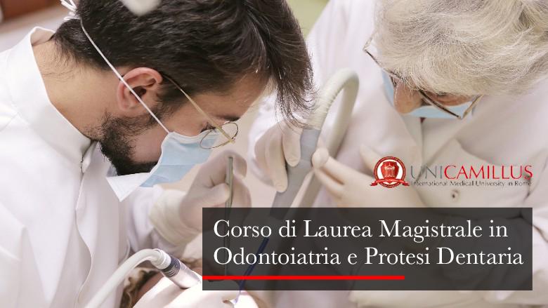 Nuovo Corso di Laurea Magistrale in Odontoiatria e protesi dentaria in Unicamillus