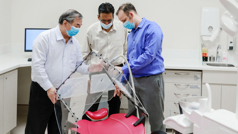 Researchers develop tent to prevent spread of SARS-CoV-2 in dental settings