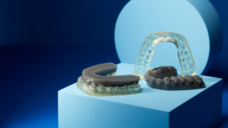 3D-printed indirect bonding tray resin aims to halve orthodontic chair time