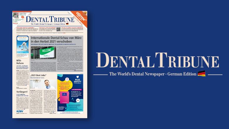 <em>Dental Tribune Deutschland</em> ab Ausgabe 1/2021 in neuem Gewand