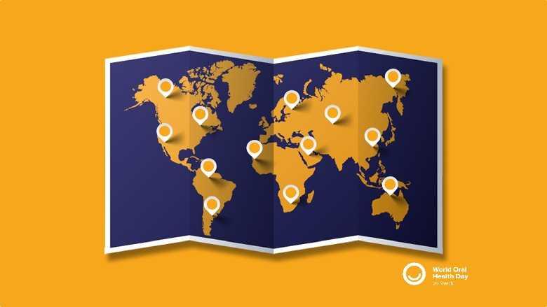 Comemoração do Dia Mundial da Saúde Oral em 2021