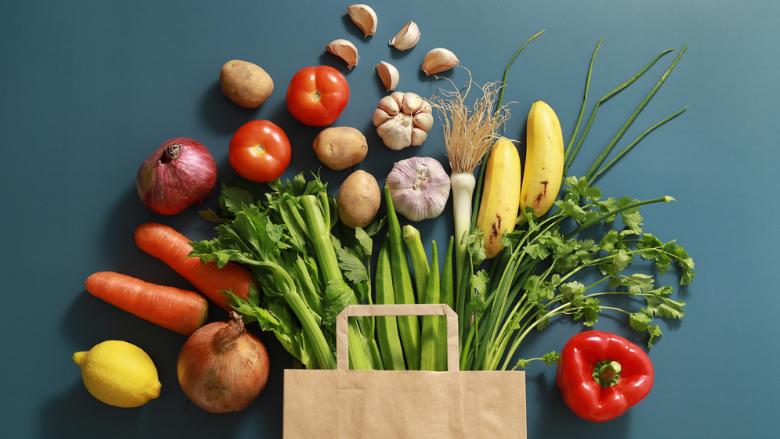 Gemüse stimuliert die orale Gesundheit positiv