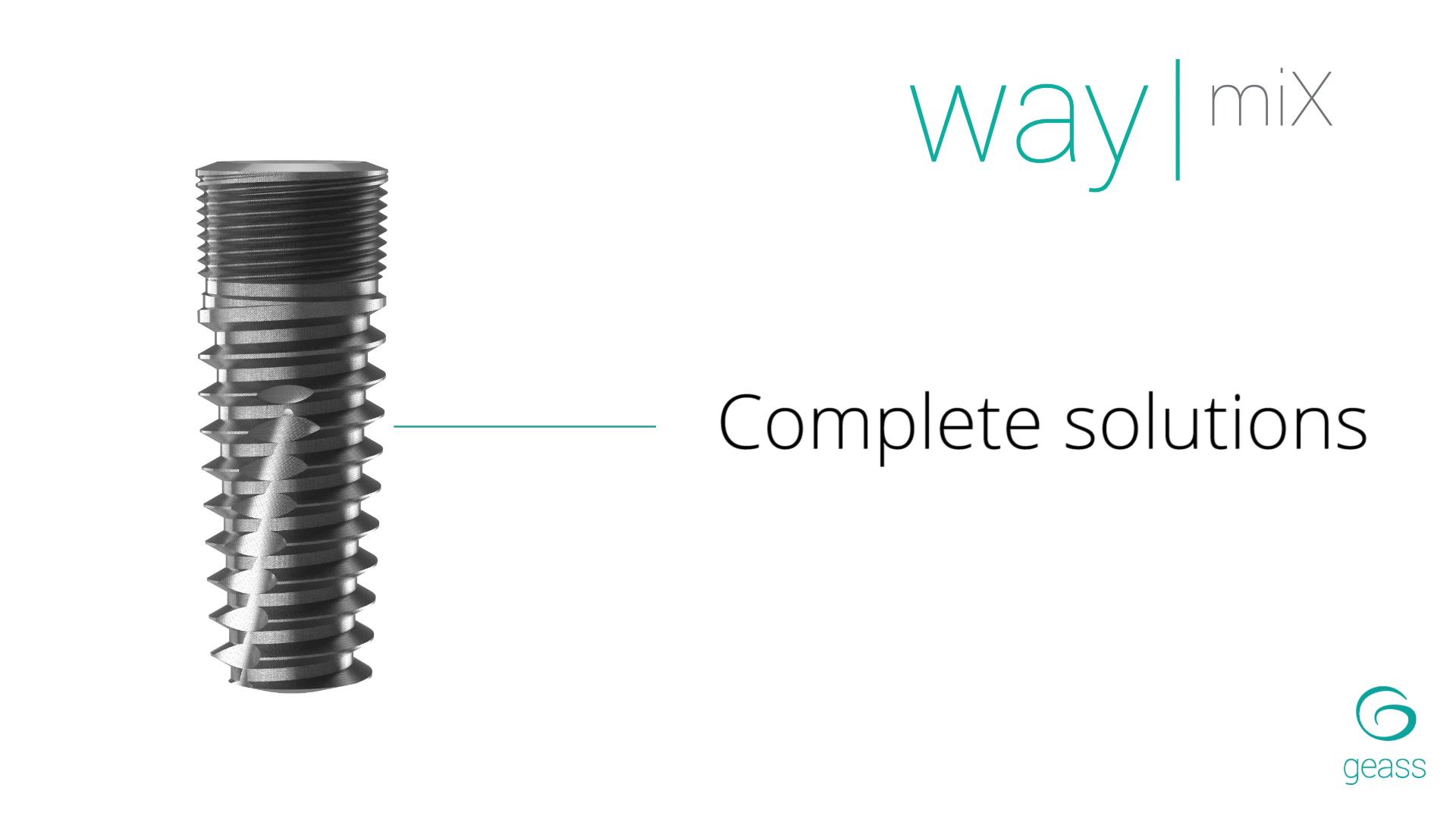 Geass - way mix complete solutions