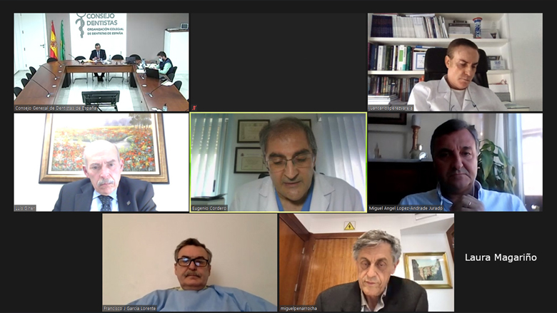 Reunión para analizar el nuevo Proyecto de especialidades en Ciencias de la Salud