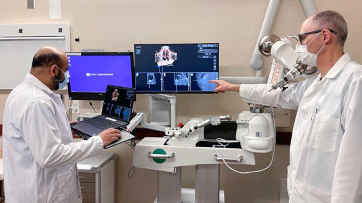 Новые возможности обучения для будущих стоматологов: Yomi