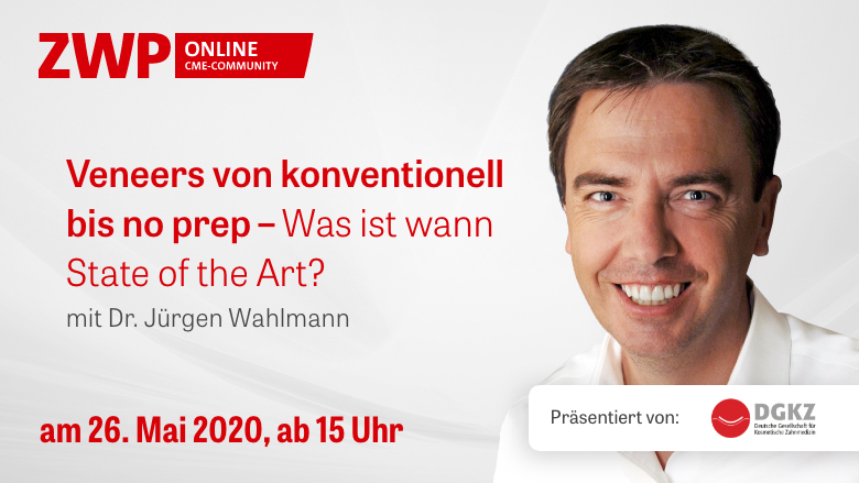 "Web-Tutorial ""Veneers von konventionell bis no prep"""