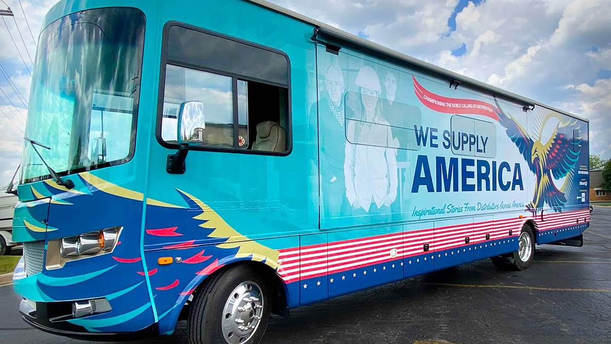 'We Supply America' to film an episode at Benco Dental
