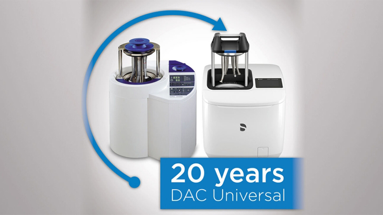 Twenty years of DAC Universal: Dentsply Sirona celebrates a sparkling clean success story