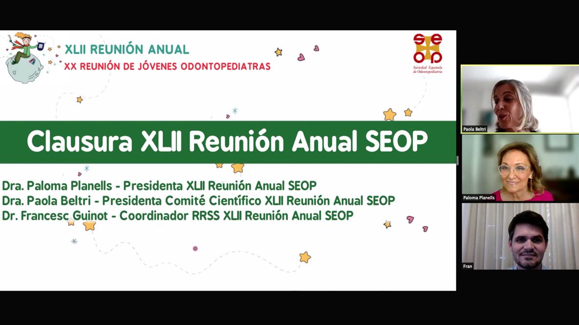 Gran éxito en la celebración de la XLII Reunión Anual SEOP
