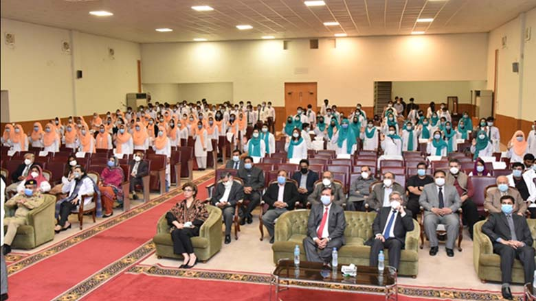 HITEC-IMS welcome new batch, organises orientation and white coat ceremony