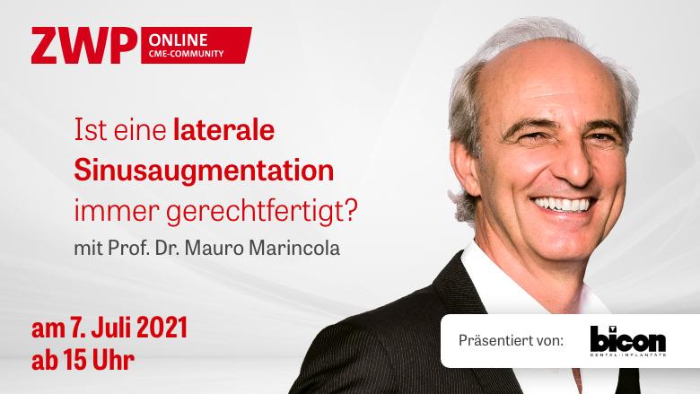 Bicon Web-Tutorial am 7. Juli mit Prof. Dr. Mauro Marincola
