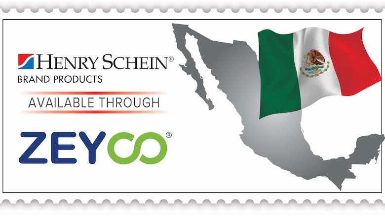Zeyco distribuirá los productos de Henry Schein en México