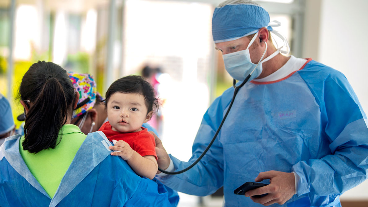 During cleft awareness month, Operation Smile shares details of its research