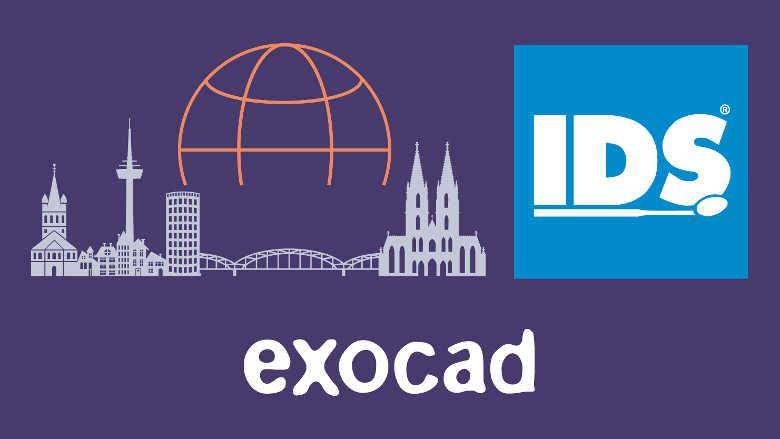 Exocad sera présent à l'IDS 2021 avec un espace d'exposition totalement inédit
