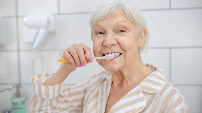 Betere gezondheid bij ouderen met eigen gebit